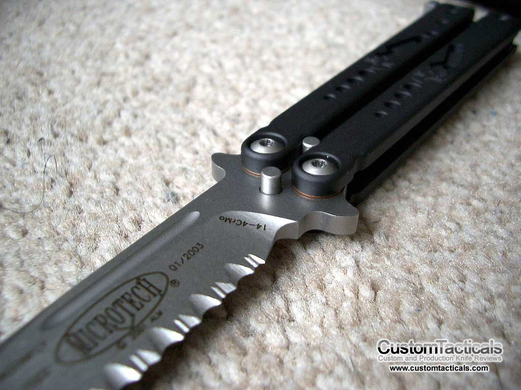 Microtech Dragonfly Butterfly Knife - Knife Reviews
